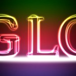 Glowing-Text-Effect-Tutorial-Photoshop1-150x150 Текст из меха в Photoshop